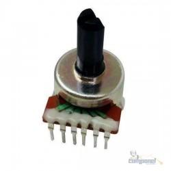 Potenciômetro Rotativo 6 Terminais Volume b10k